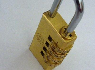 trick combination lock